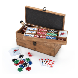 Featured Product Poker & Liquor Box Set