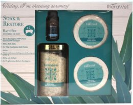 Featured Product 4 Piece Soak & Restore Bath Set