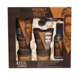 Featured Product Whiskey & Tobacco 4-Pc Beard Set