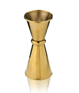 "Featured Product Belmont™ Small Japanese Style Gold ""Makoto"" Jigger"