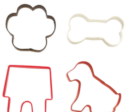 Featured Product 4-Pc Pet Cookie Cutter Set