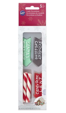 Featured Product Candy Cane Pole and Signs