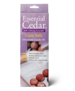 Featured Product Essential Cedar Lavender Cedar Balls
