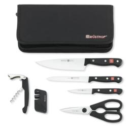 Featured Product Gourmet 7-Piece Traveler Knife Set