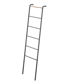Featured Product Home Tower Leaning Ladder Rack Black
