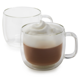 Featured Product Sorrento Plus Double-Wall Cappuccino Glasses