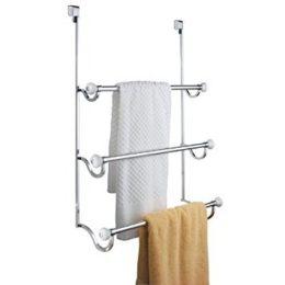 Featured Product Over-the-Shower-Door 3-Bar Towel Rack