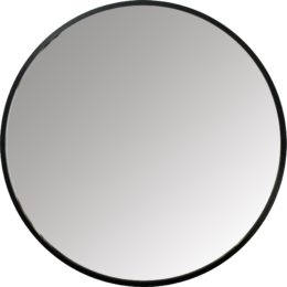 "Featured Product Hub Mirror 24"" Black"