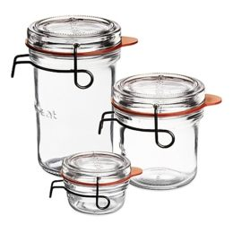 Featured Product Lock-Eat Glass Canning Jar
