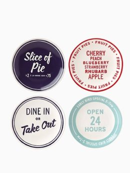 Featured Product Order's Up Tidbit Plate Set