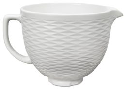 Featured Product Tilt-Head Textured Ceramic Bowl