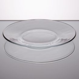 Featured Product Moderno Glass Salad / Dessert Plate