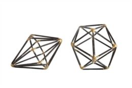 Featured Product Geometric Metal Shapes