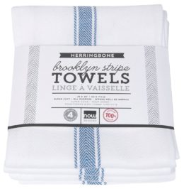 Featured Product Herringbone Brooklyn Stripe Kitchen Towels