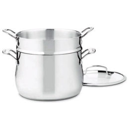 Featured Product Contour Stainless 6 Qt. Pasta Pot with Lid