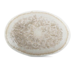 Featured Product Oval Floral Embellished Platter
