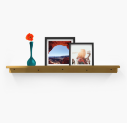 Featured Product Display Shelf