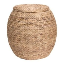 Featured Product Water Hyacinth Wicker Storage Basket