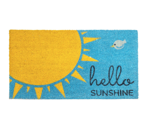 Featured Product Sunshine Welcome Mat
