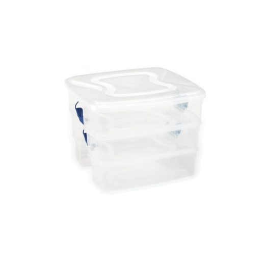 Featured Product 3-in-1 Plastic Tote Organizer