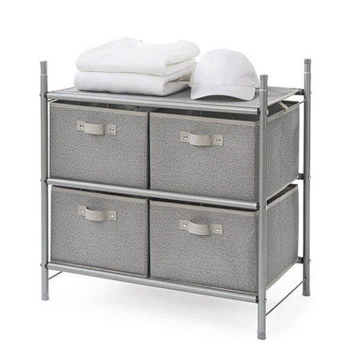 Featured Product Stackable 4-Bin Organizer