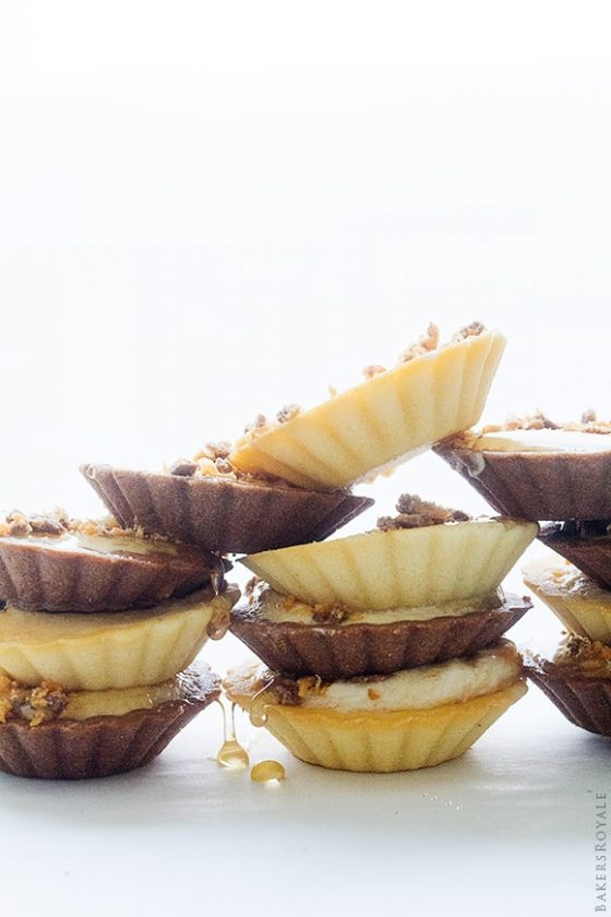 1 Butterfinger And Honey Mini Tarts By Bakers Royale