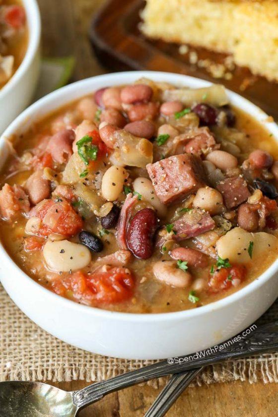Crock Pot Ham And Bean Soup 23