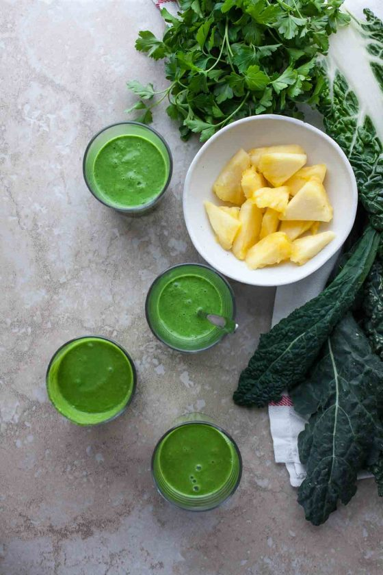 Drink Your Greens Smoothie Gourmandeinthekitchen Com 1