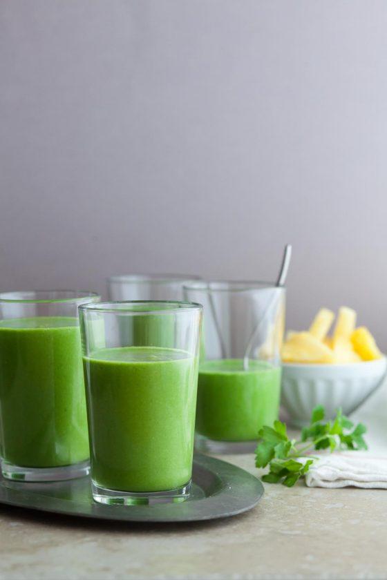 Drink Your Greens Smoothie On Gourmandeinthekitchen Com 1