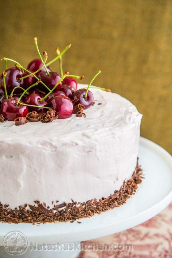 Drunken Cherry Chocolate Cake 7 4