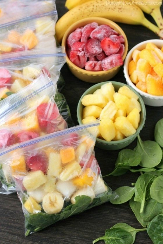 Freezer Smoothie Packs 1