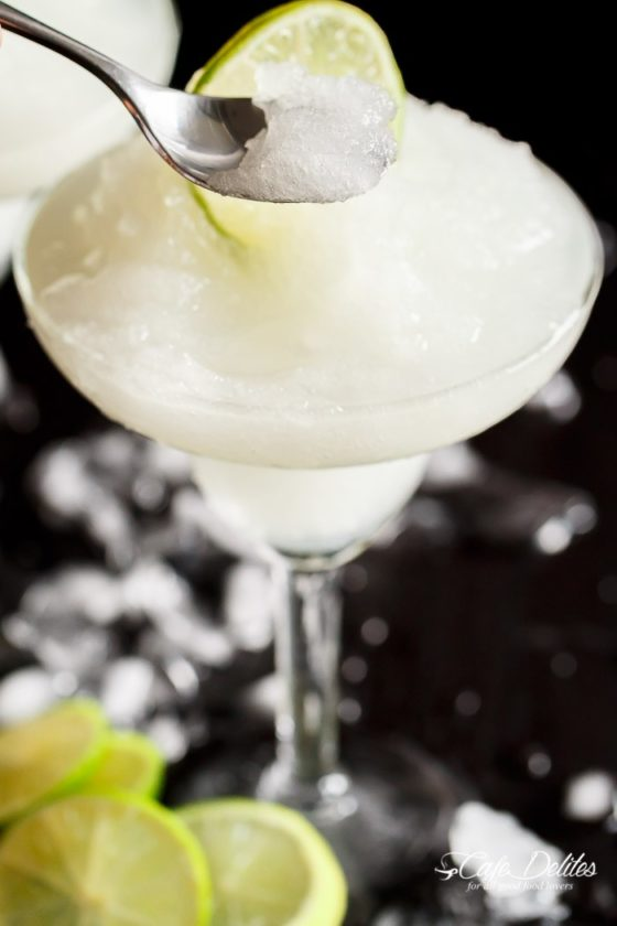 Frozen Margarita Slushies 24