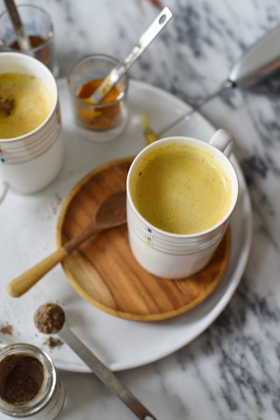 Golden Milk Latte 1