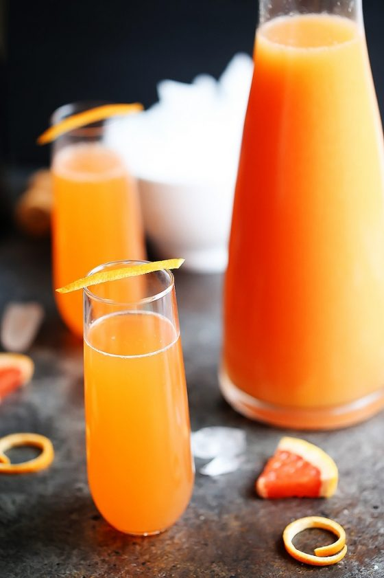 Grapefruit Aperol Sparkling Cocktail 2