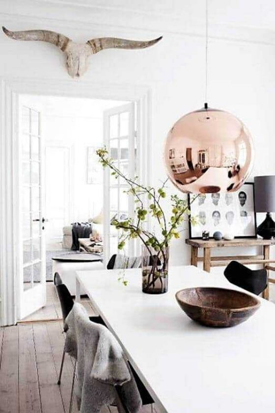 Scandinavian Dining Room Lighting Inspired Home