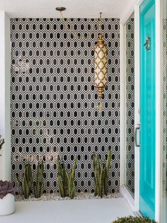 Tile Wall Grey Crawford