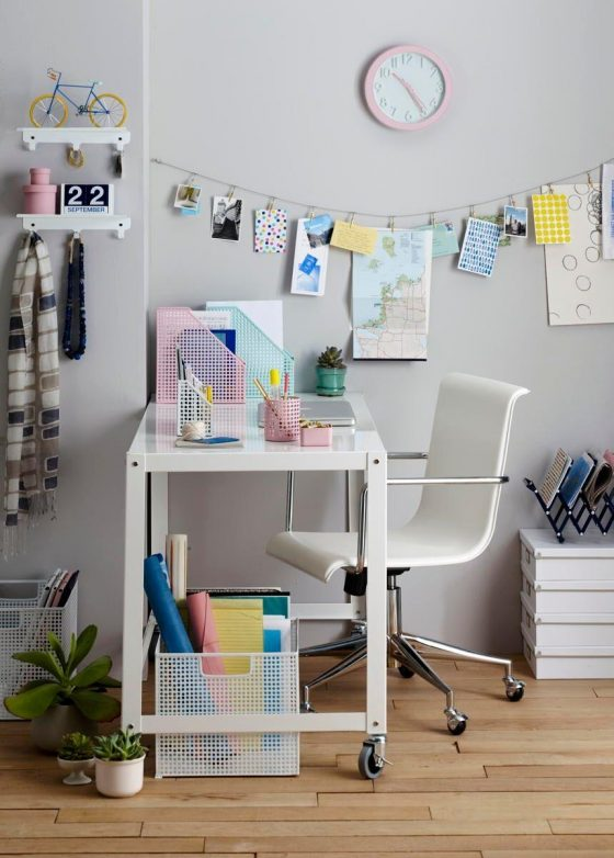 Back To Campus Inspired Home Desk Di