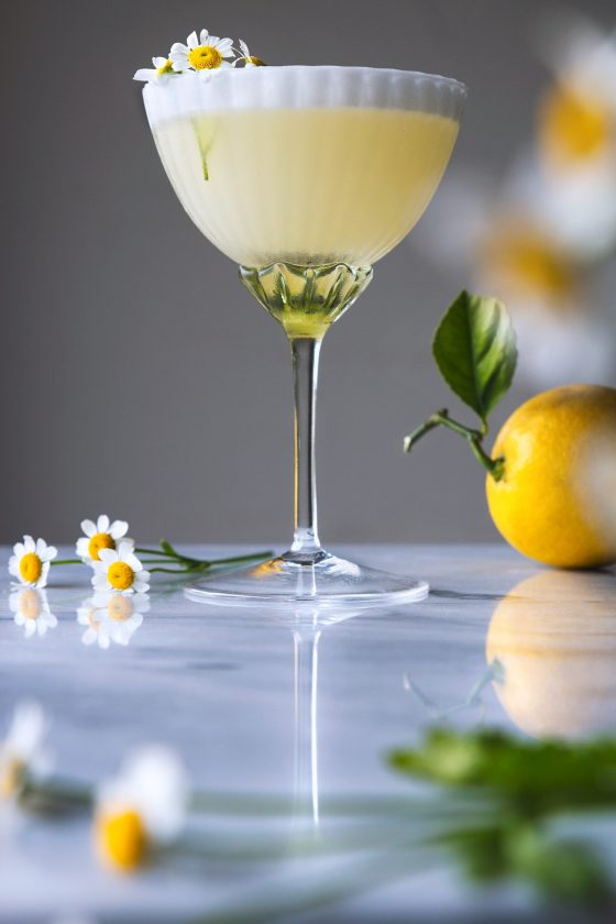 Gin Lemon Curd Yogurt Cocktail 9 2 2