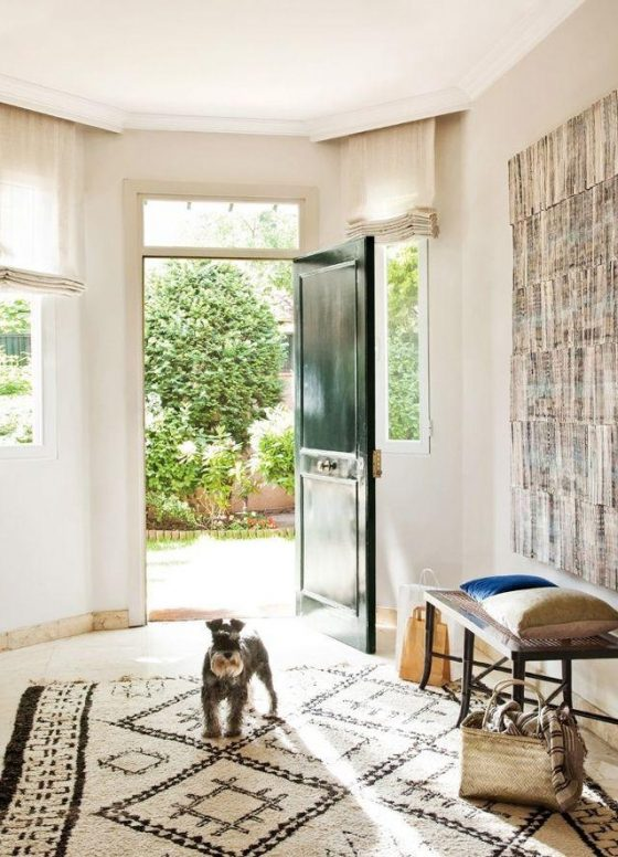 Inspired Home Entryway Boho