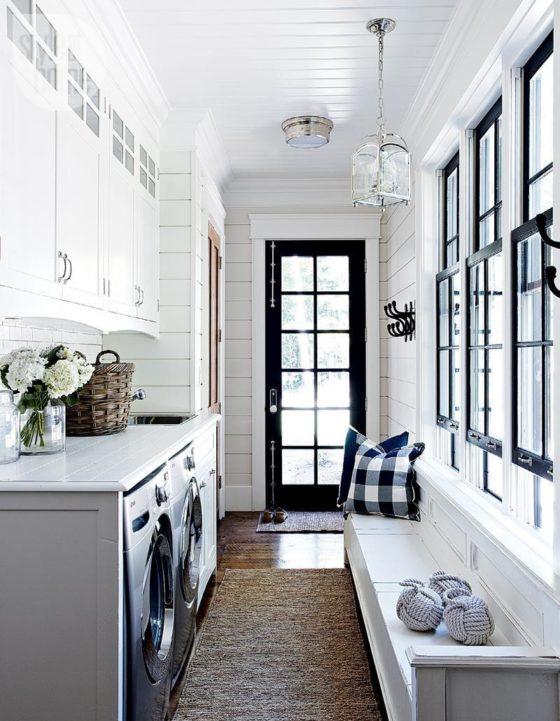 Laundry Room Organization Farmhouse Inspired Home