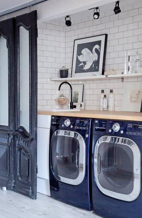 Laundry Room Organization Shelving Inspired Home