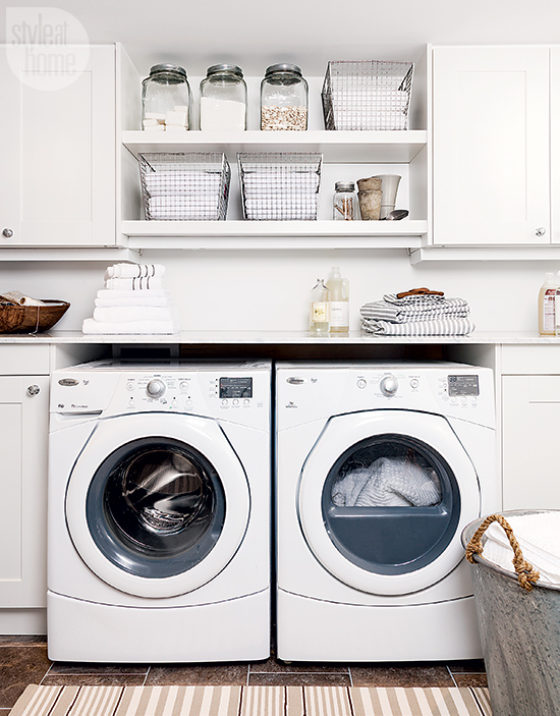 Laundry room inspiration deborah shearer the inspired home for How to add a laundry room to your house
