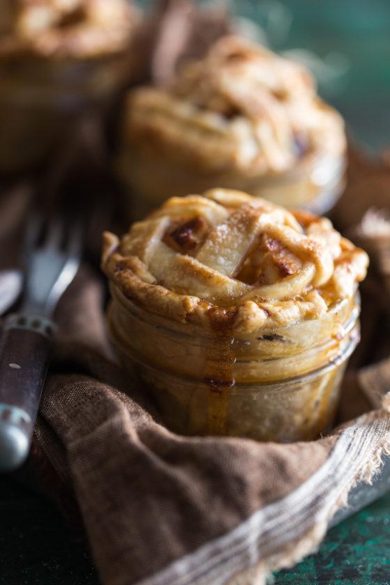 Mini Apple Raisin Pies In Jars Emily Caruso Jelly Toast 1 Of 7