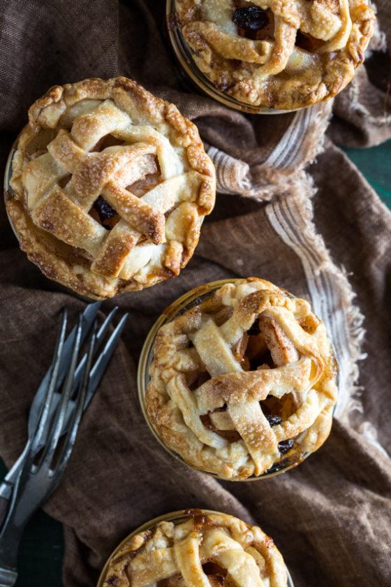 Mini Apple Raisin Pies In Jars Emily Caruso Jelly Toast 2 Of 7
