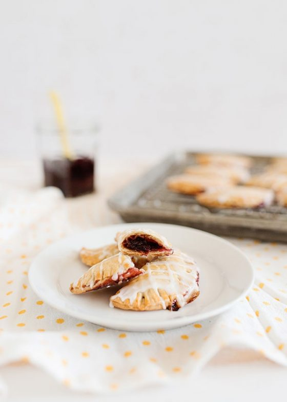 Mini Cherry Almond Hand Pies 9