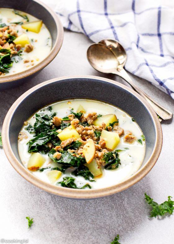 Sausage Kale Soup 4 1
