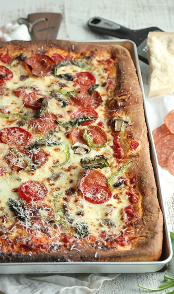 Sheet Pan Pizza Pinterest 2