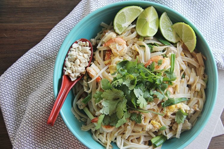 Classic Pad Thai Recipe | Linda Tambunan | The Inspired Home