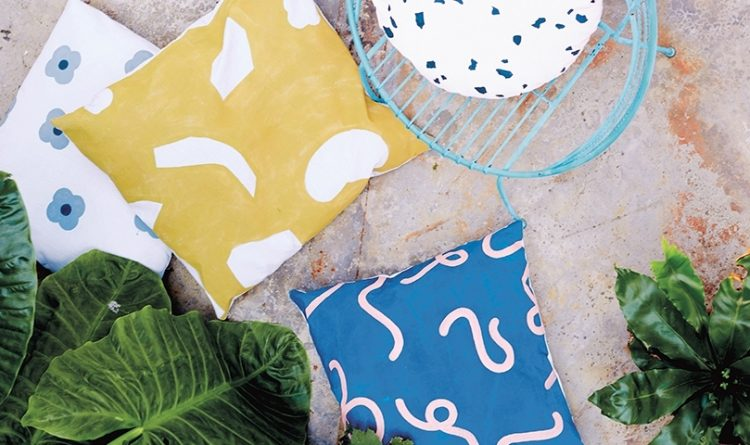 DIY Simple and Chic All-Weather Pillows