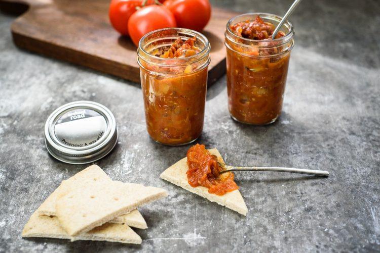 Grilled Tomato & Bacon Jam Recipe